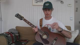 Guitar lesson 078G-Lay Back In The Arms Of Someone