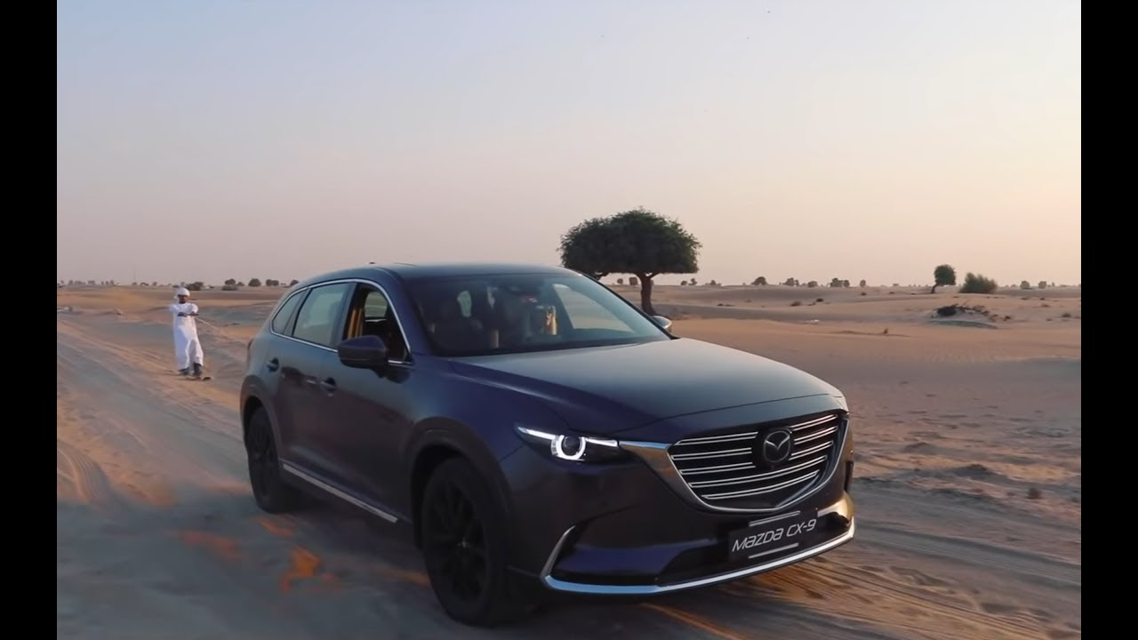 The New CX-9: Desert Skiing With Supercar Blondie