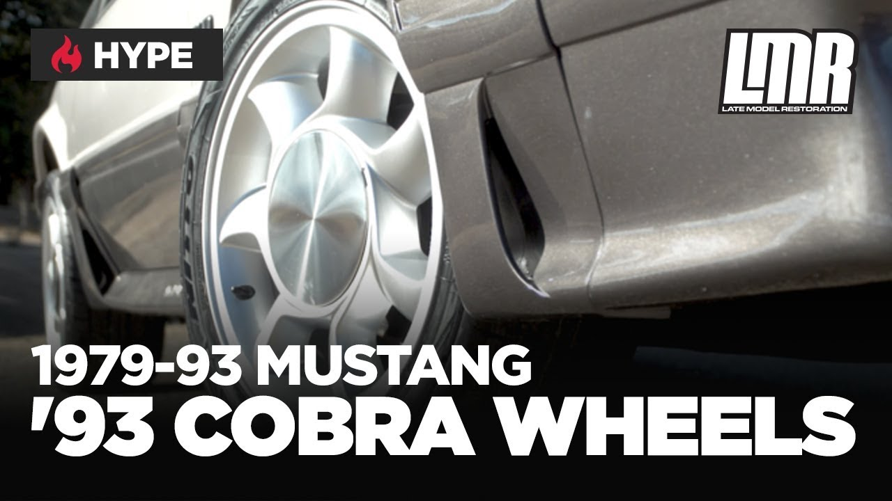 1979 1993 Fox Body Mustang 93 Cobra Style Wheel 4 5 Lug Youtube
