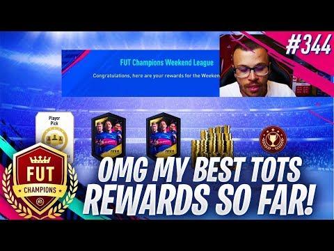 FIFA 19 MY BEST TOTS ELITE 1 FUT CHAMPIONS REWARDS SO FAR! WE MADE OVER 2 MILLION COIN PROFIT!