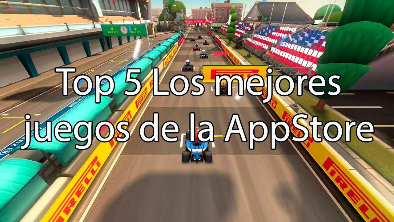 Top 5 Los Mejores Juegos Del Appstore Para Iphone Ipod Y Ipad 2014