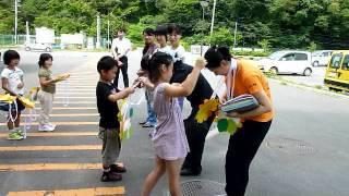 石巻大須小の生徒達が感動の「大須の宝」