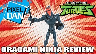 Origami Ninja Rise of the TMNT Ninja Turtles Action Figure Video Review