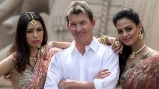 Brett Lee in BOLLYWOOD