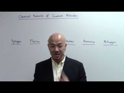 O-Level Chemistry . IP Chemistry: How to write Chemical Formula of Covalent Molecules