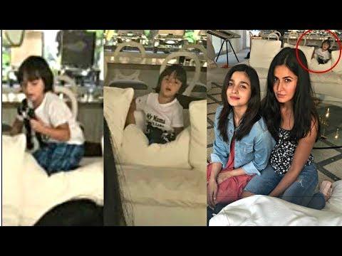 Shahrukh Khan Son Abram Khan Photobomb Katrina Kaif And Alia Bhatt Pic