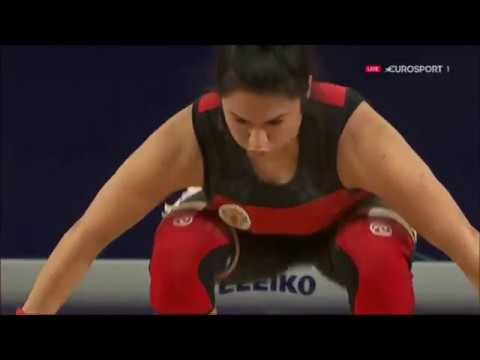 2016 Olympic Weightlifting , Women 75 kg