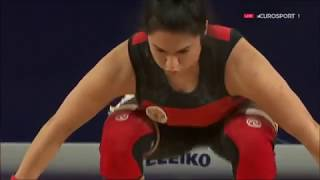 2016 Olympic Weightlifting , Women 75 kg - European Championships \ Тяжелая Атлетика