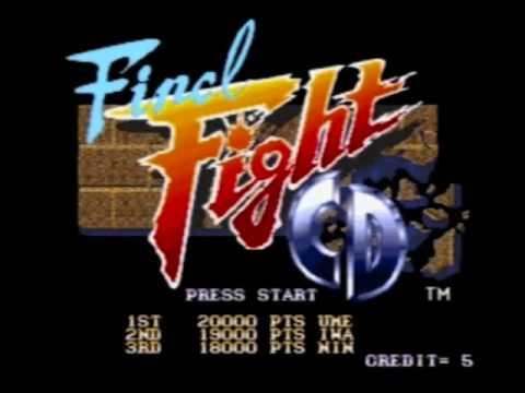 Final Fight CD Game Music: Track 2 (Slum Above Ground & Uptown Beginning)