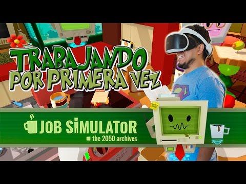 ¡Un Youtuber que sí trabaja! Job Simulator PS VR