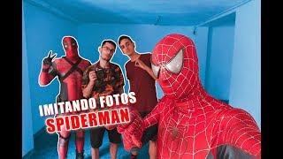 IMITANDO FOTOS DE SPIDERMAN EN LA VIDA REAL