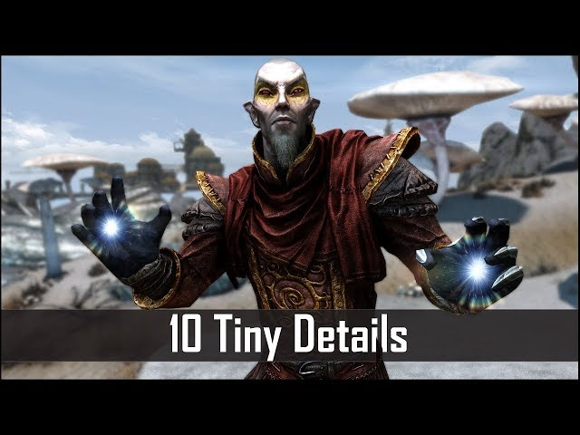 Skyrim: Yet Another 10 Tiny Details That You May Still Have