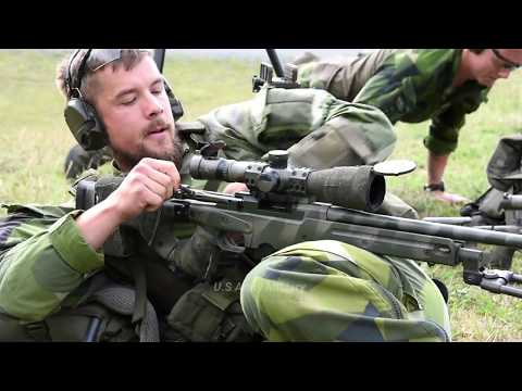 Swedish Army Sniper Vs German Sniper Involved Long-range Target | Us Army Military