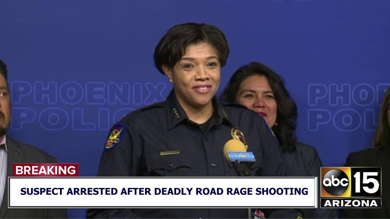 Phoenix police address public regarding fatal shooting of Summer Brown