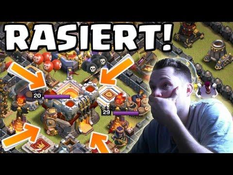 RATHAUS 11 RASIERT! || CLASH OF CLANS || Let's Play CoC [Deutsch/German HD+]