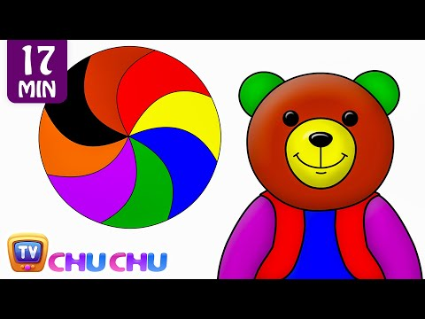 Colors Songs Collection | Learn, Teach Colours to Toddlers | ChuChuTV Preschool Kids Nursery Rhymes