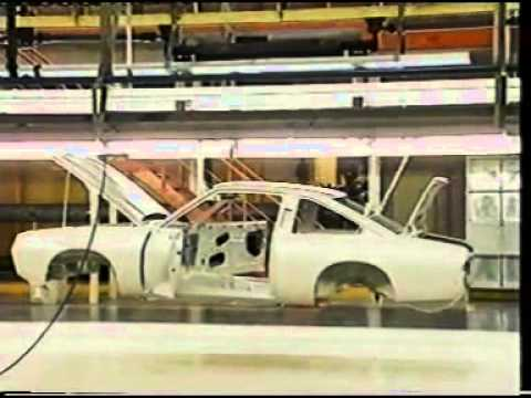 The Last Opel Manta GM Plant 1  in Antwerp