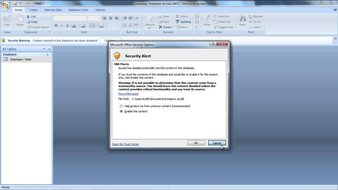 le code de confirmation de microsoft office 2007