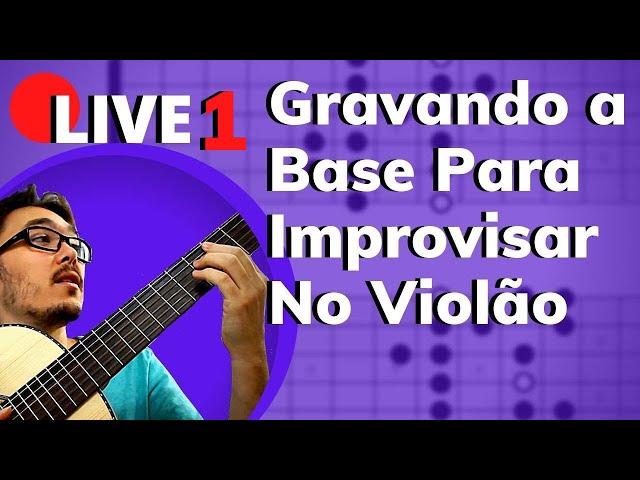 🔴 Dicas Para Improvisar no Violão - Live com Mateus Bustamante