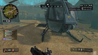Call of Duty: Black Ops 4 - Blackout - Helicopter Gameplay PS4 (1080p60fps)