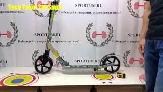 Обзор самоката Tech Team 210 Sport / Review scooter Tech Team 210 Sport