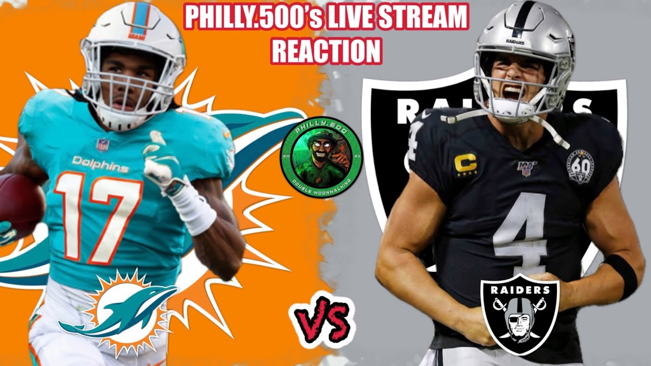 Dolphins vs. Raiders odds, picks, line, how to watch, live stream ...
