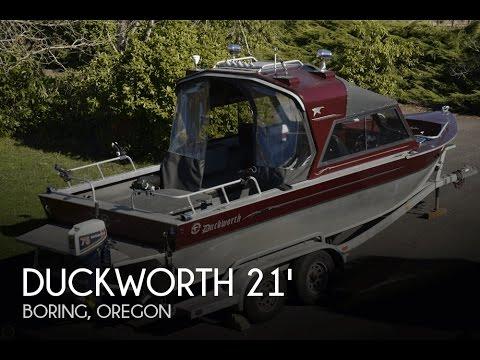 [SOLD] Used 2000 Duckworth 21 Magnum 3/4 Hardtop In Boring, Oregon