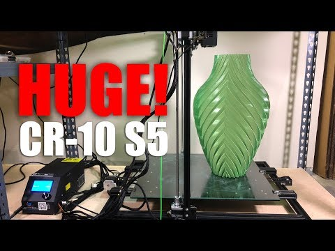 A First Look at the Creality CR-10 S5: The Biggest CR-10 3D Printer