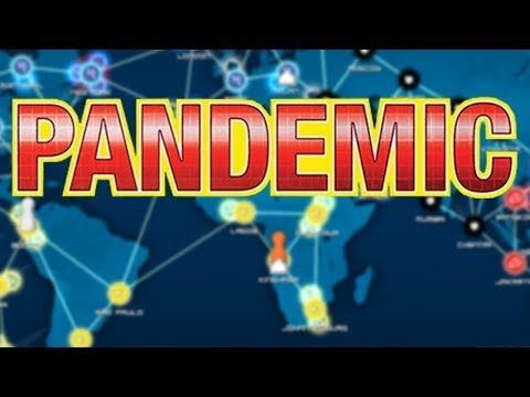 Pandemic - #1 - The Disease Fighting Board Game (4 Player Gameplay)