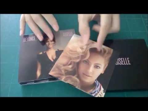 Embalagem Digipak de CD customizada: Beyoncé Giselle