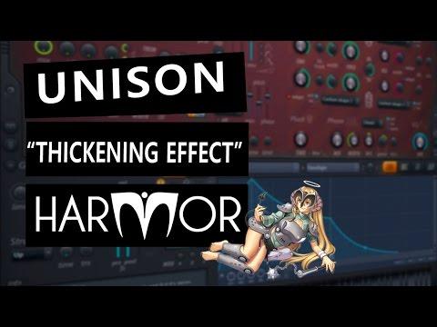 """HARMOR - Cómo usarlo desde 0 - Capítulo 8 - """"Unison"""""""
