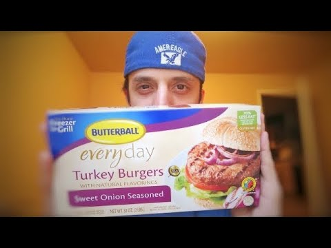 Butterball Everyday Turkey Burger Taste Test