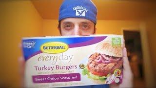 Butterball Everyday Turkey Burger Taste Test