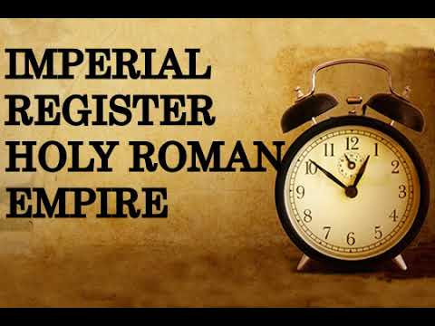 Imperial Register Holy Roman Empire
