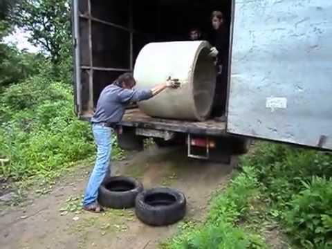 Comment décharger une buse en béton Fail
