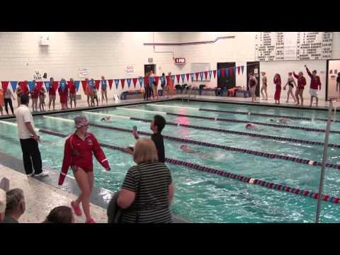 Marines vs. Saints V Swim 10/20