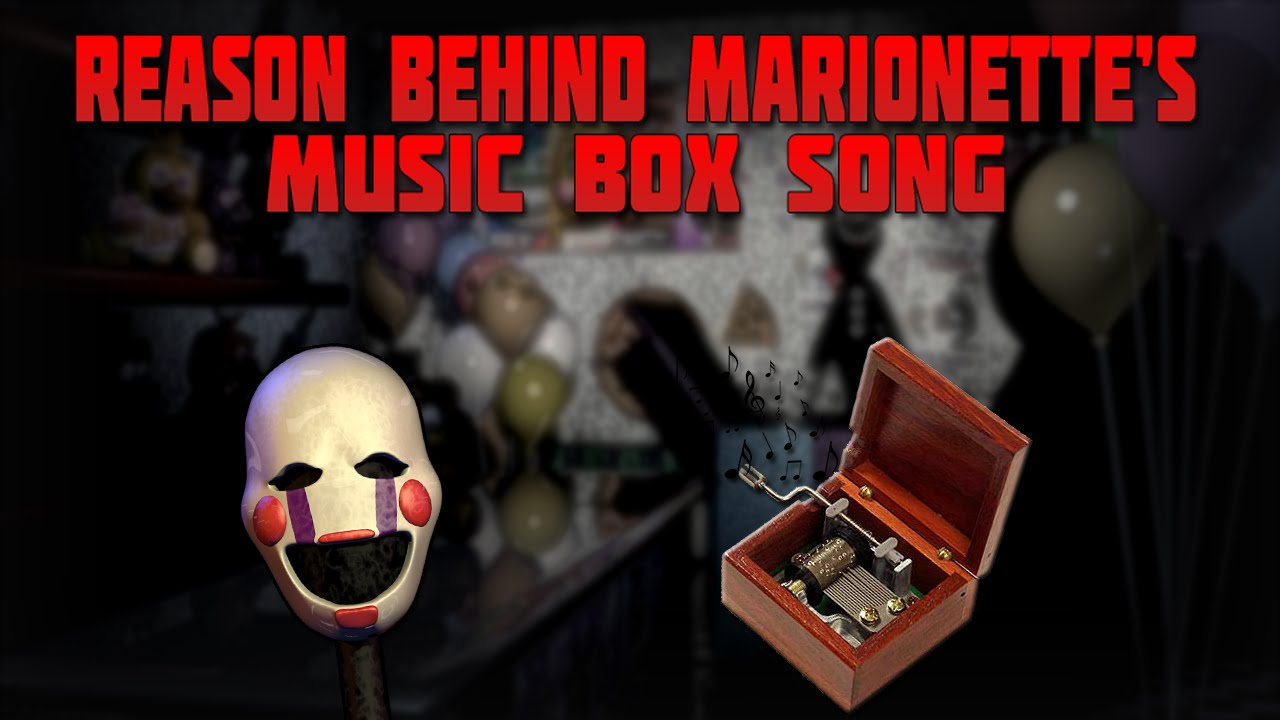 Secret behind the marionette music box song fnaf theory youtube