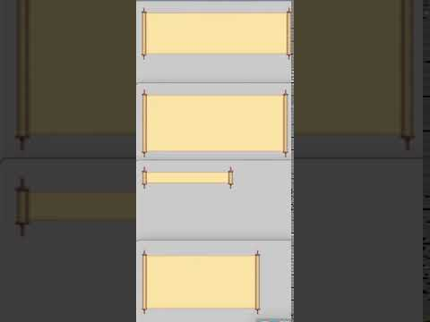 Scroll Button Opens Into Scroll Panel (Photoshop+Unity)