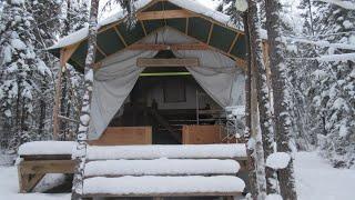 Amazing Winter Hot Tent!