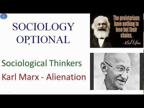 alienation theory of karl marx