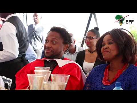Mama Winnie Mandela's Surprise Attendance and Speech at Commissar Dr  Ndlozi's Graduation Celebratio