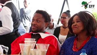 Mama Winnie Mandela's Surprise Attendance and Speech at Commissar Dr  Ndlozi's Graduation Celebratio