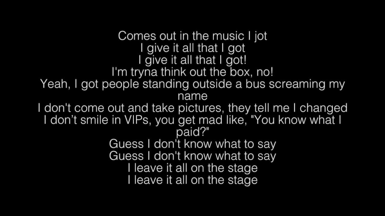 Download No Name- NF Lyrics