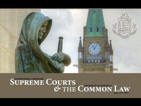 Supreme Courts and the Common Law [full webcast] [HD version]