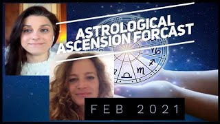 February 2021 Astrological Ascension Forecast -pendulum of fear & love / mind matter / emotional