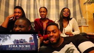 Fena Gitu - Sema Ng'we [Dare Me] ( UK GUYS REACTION )    @Fena_menal @Ubunifuspace