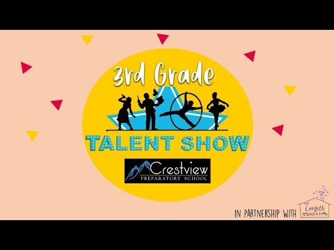 Crestview Preparatory School's 3rd Grade Talent Show Fundraiser