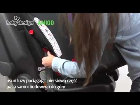 Видеообзор автокресла Baby Design Amigo