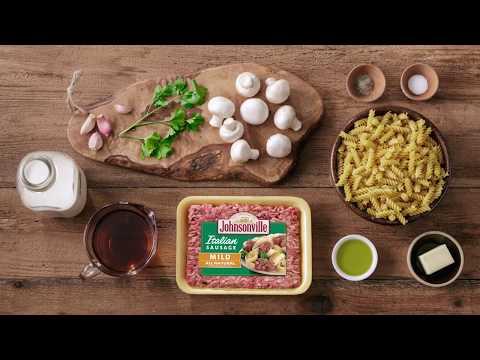 Recipe: Corkscrew Sausage Marsala