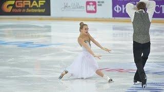 Виктория Синицина/Никита Кацалапов. Чемпионат России по фигурному катанию на коньках 2016.